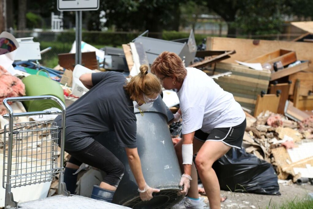 Baton Rouge Flood Relief Sept. 2016